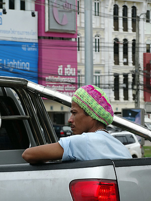 Bypass x Yaowarad Road - Phuket - Thailand - 8 July 2013 - 10:55