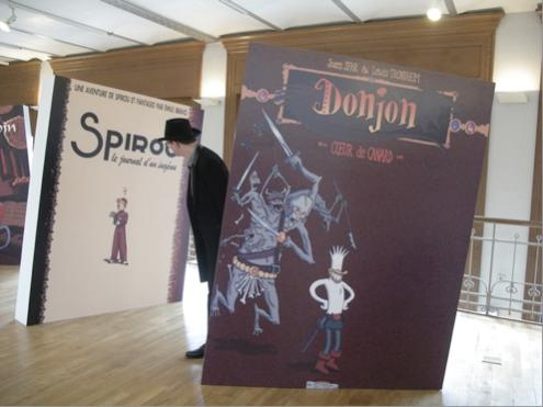 Belgien-Urlaub: Molo im Comic-Museum.