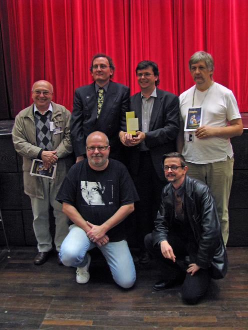 »Magira«-Jahrbuch-Team 2010 bei Deutschen Phantastik Preis.