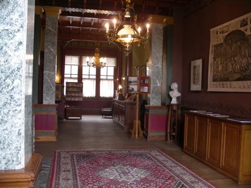 Belgien-Urlaub: Maison Autrique, Foyer.