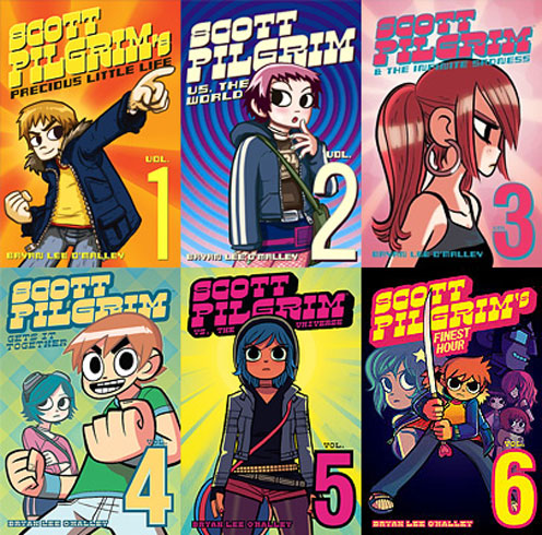 Bryan Lee O'Malley: »Scott Pilgrim Vs. The World« bei Oni Press.