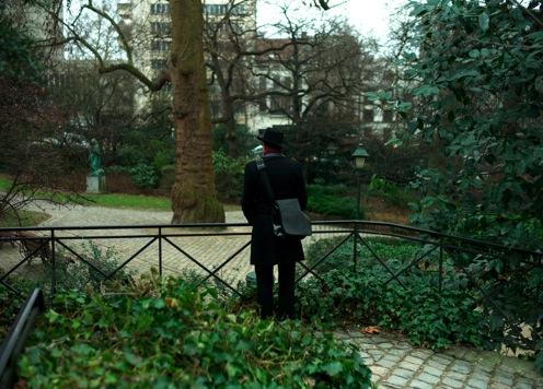 Belgien-Urlaub: Molo im Park.