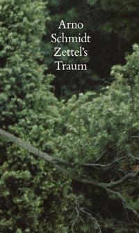 Schuberzierbild von Arno Schmidts »Zettel's Traum«, gesetzte Ausgabe der Arno Schmidt-Stuftung im Suhrkamp Verlag..