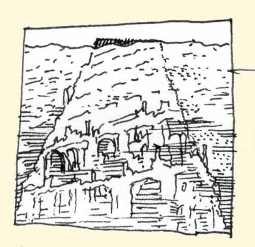 Babel, turmunter / Babel flooded