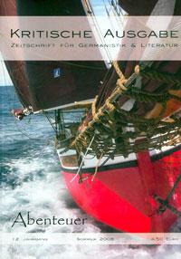 »Kritische Ausgabe: Abenteuer«