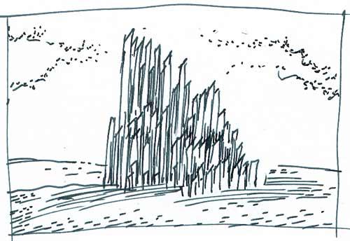 Vignette zu »Zehn Etuden No. 1: Der Organist«