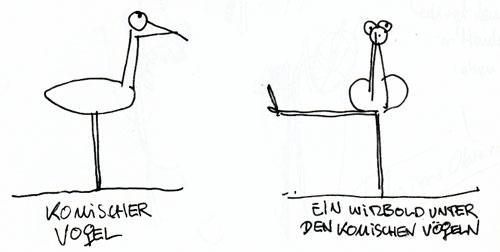 Komischer Vogel / Funny Bird