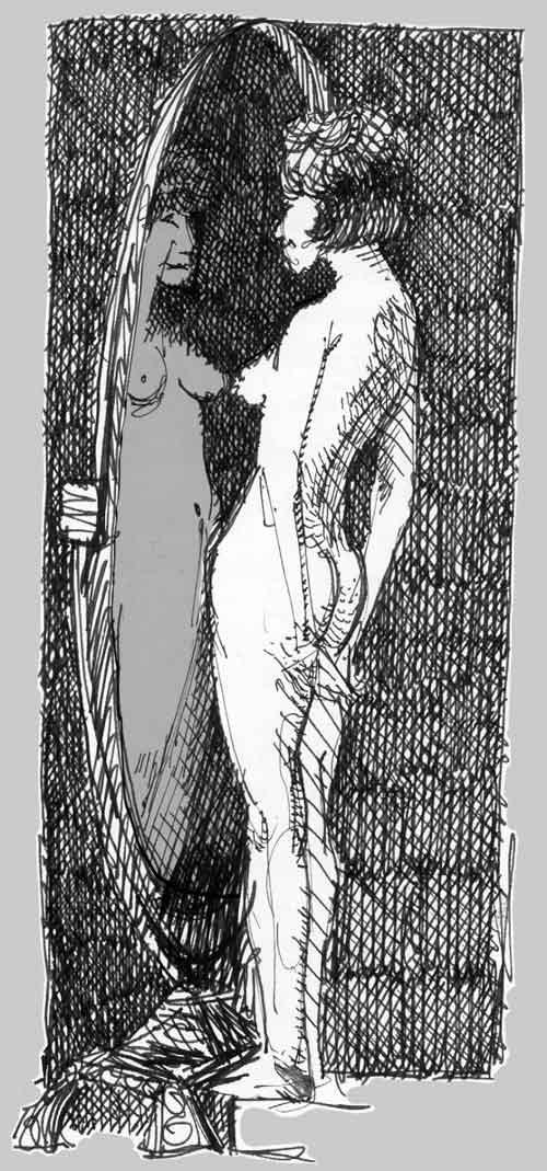 Die Hüfte (nach W. Paine) / The Hip (after W. Paine)