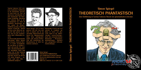 Simon Spiegel: »Theoretisch Phantastisch – Eine Einführung in Tzvetan Todorovs Theorie der phantastischen Literatur«.