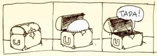 Skribbel: Comic