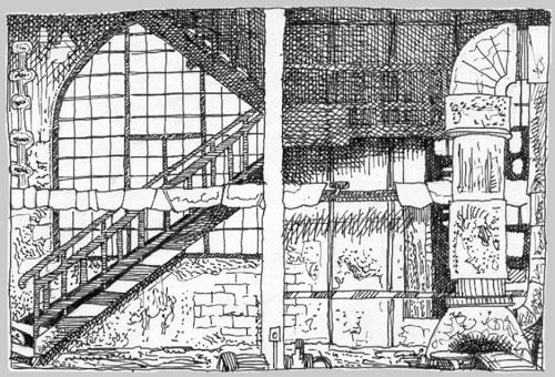 Stillgelegtes Kraftwert / Desertet Factory