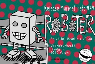 """26.10.2018 Release Murmel #49 """"Roboter"""""""