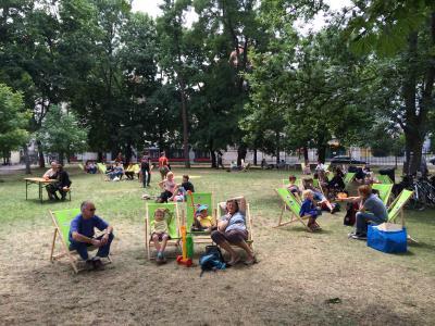 les frotteurs und mc picknicken im IF Vienne 27.6