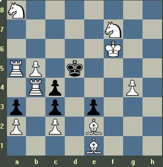 White only moves his king and mates in 6.