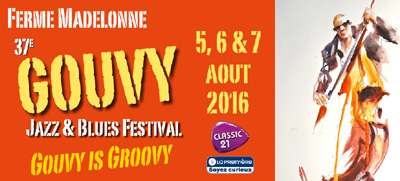 Jazz- & Bluesfestival @ Ferme Madelonne