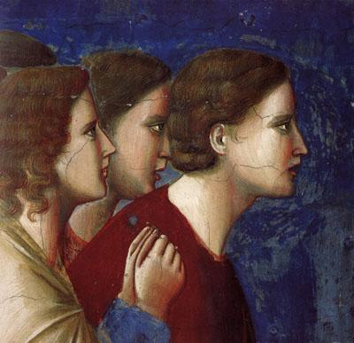 La pregària dels pretendents, Giotto