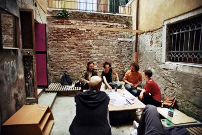 morion hof courtyard work besprechung