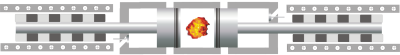 Freikolbenlineargenerator: Vom zentralen Brennraum drückt der Motor nach links und rechts jeweils einen frei schwingenden Kolben weg. Dahinter sitzen Spulen, die Strom erzeugen. Bild (c) DLR
