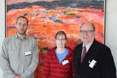Thorsten Mascher, Anke Becker und Erhard Bremer (v.l.n.r., Bild: UMR)