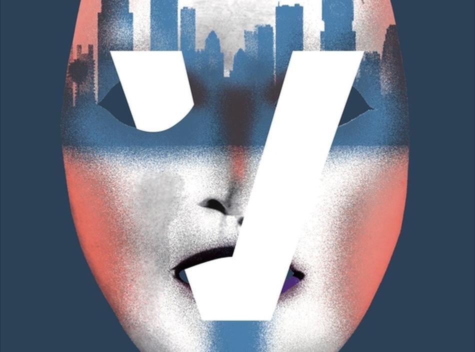 Cover des Roman V oder die Vierte Wand