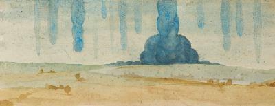 Bildliche Wiedergabe eines Alptraums von Albrecht Dürer