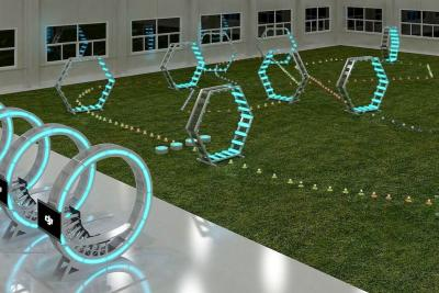 DJI is opening an indoor drone arena