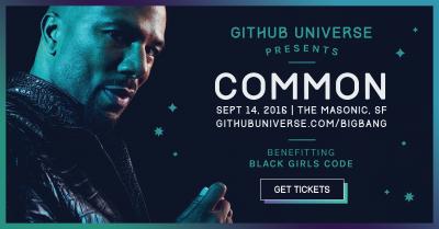 GitHub Universe Big Bang Benefit Concert