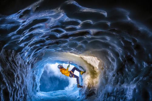 The Ice Cave Experience