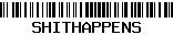 shithappens barcode