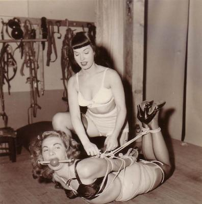 Vintage fetish & bondage photo