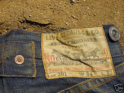 1890's -201 Levi's- Great Condition