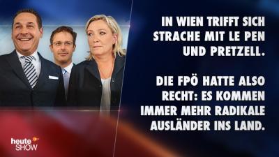 FPÖ, FN und AfD: das L steht für Liebe.