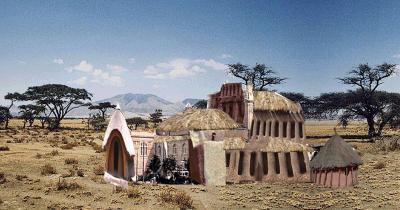 So könnte es aussehen: Schlingensiefs Festspielhaus in Afrika