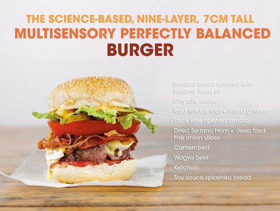 The 2 + 7 layer burger
