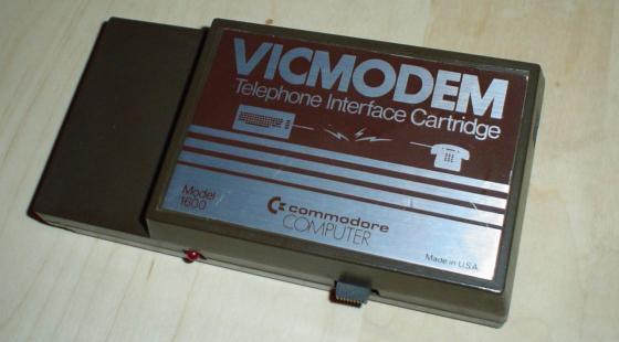 Commodore VIC 300bits/s modem
