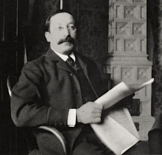 Friedrich Austerlitz, langjähriger Chefredakteur der Arbeiterzeitung