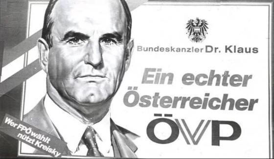 """Josef Klaus, Finanzminister, Bundeskanzler, """"echter"""" Österreicher"""