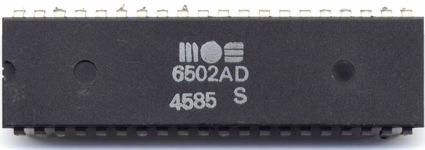 MOS 6502AD 4585