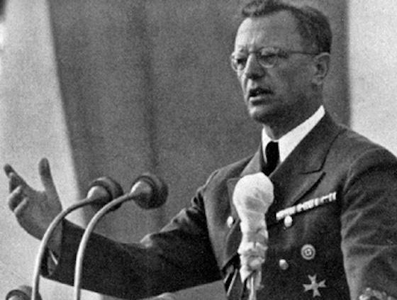 Arthur Seyß-Inquart, österreichischer Jurist, Nazi, als Kriegsverbrecher hingerichtet