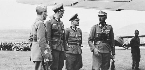 Dr. Kurt Waldheim - vor der Entlassung aus der Wehrmacht