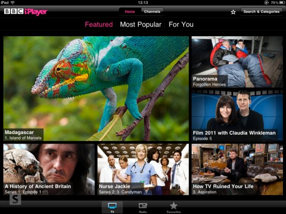 The Grid On The iPlayer