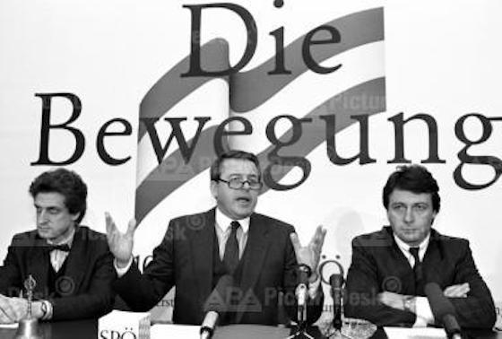 SPÖ, die Bewegung, Cap, der Rebell, Vranitzky, der Generaldirektor