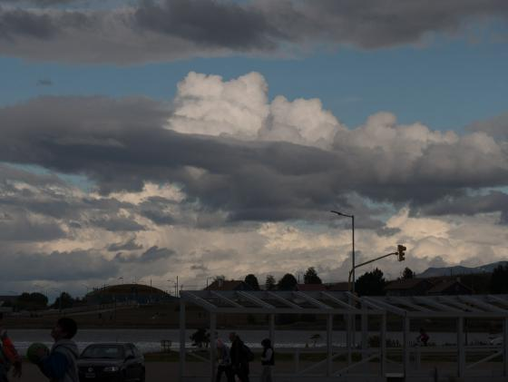 Clouds in Ushuaia