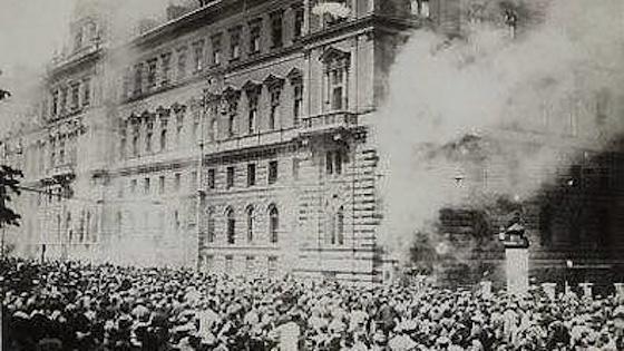 Der Justizpalastbrand