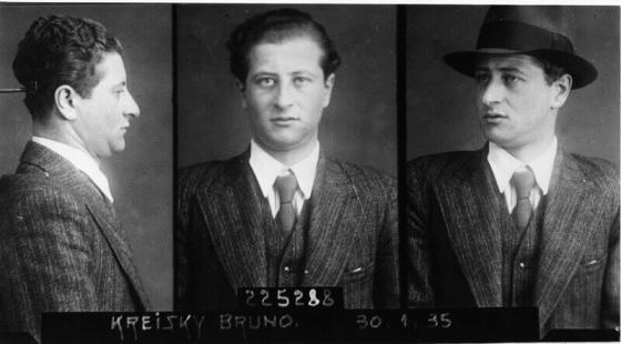Bruno Kreisky, Funktionär der SAJ und der RSJ, Illegaler im Ständestaat