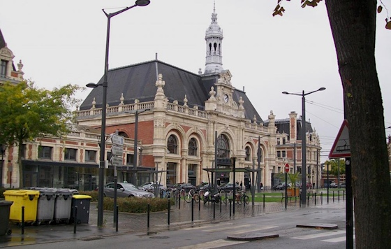 La Gare de V., Departement Nord
