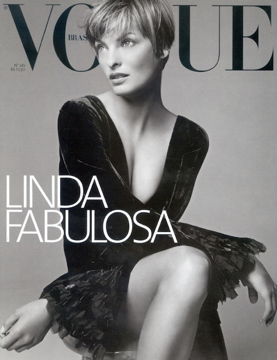Linda E. on Vogue do Brasil