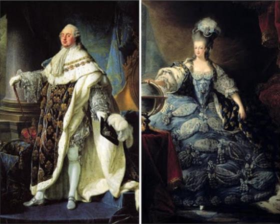 Der König und die Königin von la belle France
