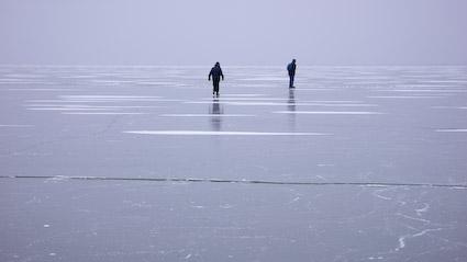 Eislaufen in Mörbisch