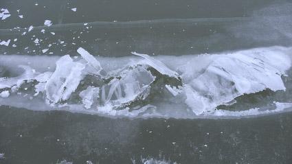Eis am Neusiedler See